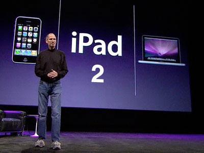 Apple Unveils iPad 2 Tablet Computer
