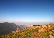 Travel in Huanggang Mountain  Nan Ping of China
