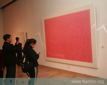 Fifteen artists present China   s modern abstraction art