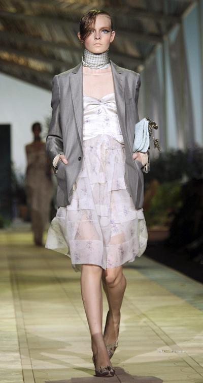 Roberto Cavalli Spring/Summer 2010 women's collection in Milan