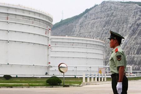 Work on Tianjin crude reserve base starts
