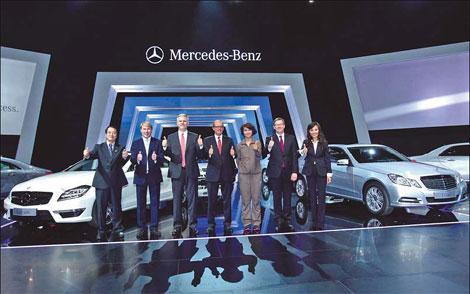 New models demonstrate Mercedes-Benz motto