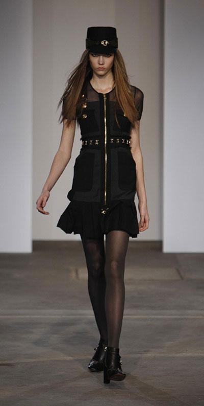 Luella 2009 A/W collection at London Fashion Week