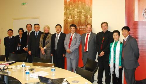 Delegation from JNU Visiting Europe