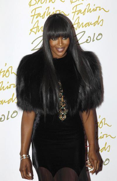 The British Fashion Awards 2010 in London