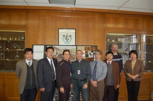 Zhu Shengli (Vice President of BUA) Visited University of Guelph of Canada