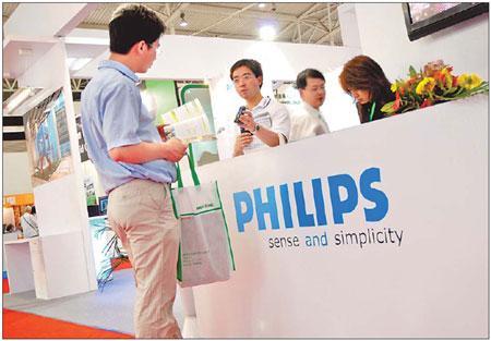 Philips elevates China's market status