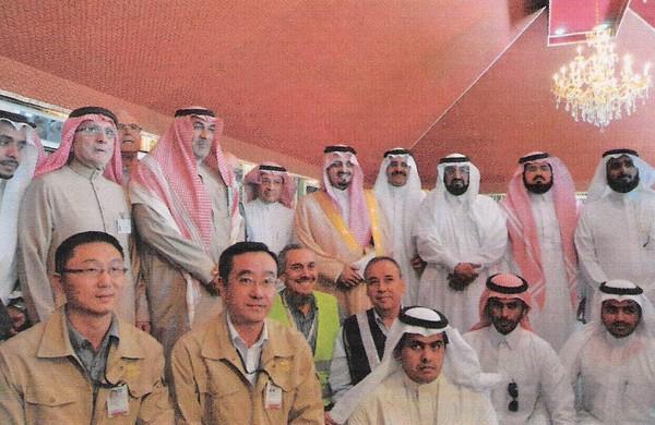 Prince Faisal inspects King Khalid University project