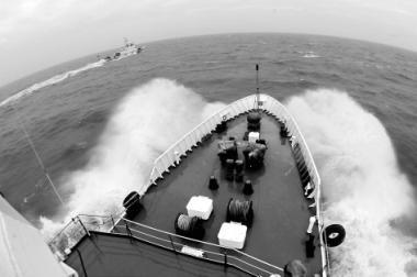 Taiwan Straits voyage