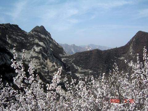 North peak  Shaanxi Xi   an of China