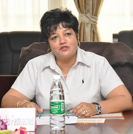 South African Delegation SANTRUST Visited SCAU
