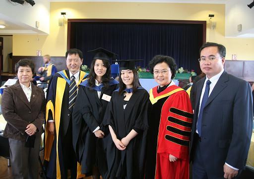 Wang Huimin(Chairman of University Council) Presented at 2010 Graduation Ceremony of Harper Adams University, UK