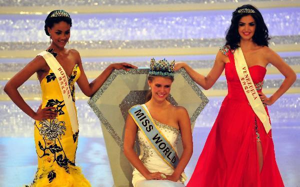 U.S. woman wins Miss World