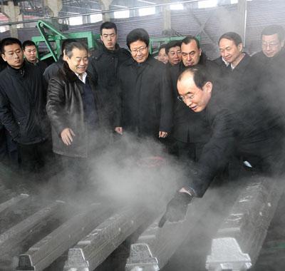 Zhang Chunxian Visits Wujiaqu