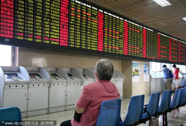 China stocks close down 3.79% Monday