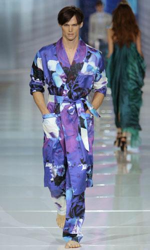 Spring/Summer 2009 men's collection in Milan