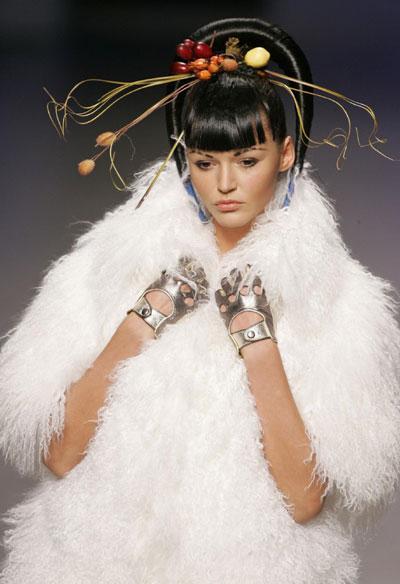 Ukrainian fashion week in Kiev