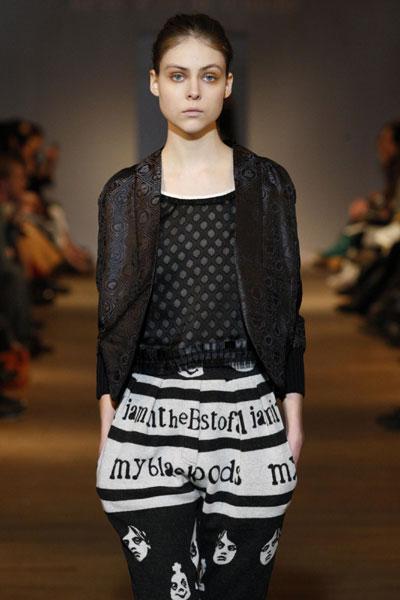 Elisa Nalin collection at Paris Fashion Week