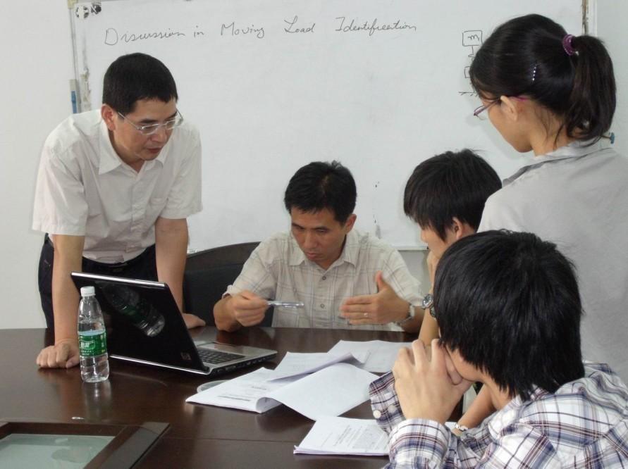 Professor Chin-An Tan from Wayne State University Visited JNU