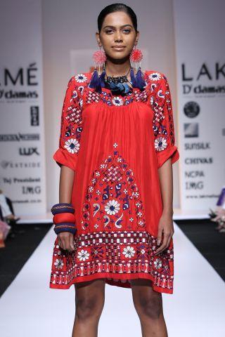 Lakme Fashion Week: Creations by Designer Preeti Chandra