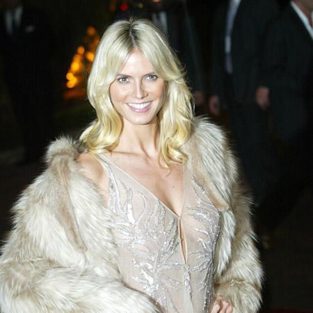 Mature model Heidi Klum