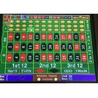 Mega Ball Roulette Betting Table , Funny Digital Roulette Machine 280kg Weight