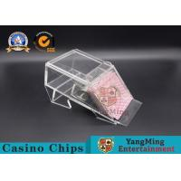 1 Deck/ Casino Poker Dealer Shoes Black Color Gambling Dedicated Acrylic Shoes