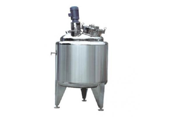 Stainless Steel Concrete Mixer : Stainless steel concrete chemical tank agitator mixer