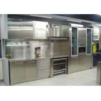 Free Standing Stainless Steel Outdoor Kitchen Cabinets , Island Kitchen Units