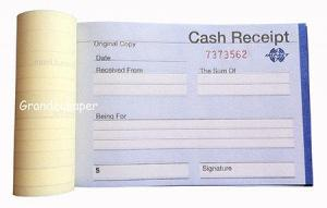 Cash Receipt Book for sale – Office Paper manufacturer from china ...
