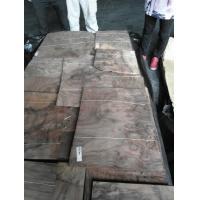 Sliced Natural Walnut Burl Wood Veneer Sheet