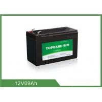 9Ah 12 Volt Lithium Battery Deep Cycle , Rechargeable Lithium Battery Pack
