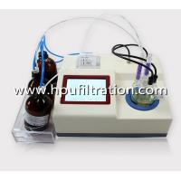 LCD Display Karl Fischer Volumetric Water Content Analysis Tester, Oil Trace moisture titrator, ppm Analyzer