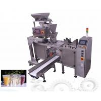 Zipper Stand Stand Pouch Packing Machine For Peanut Nuts Ritual Filling