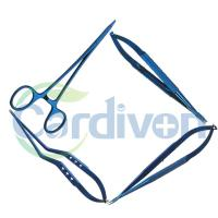 Cardiovascular, Thoracic, Neurosurgical, Plastic Surgery Instruments(Needle Holder), Titanium or Stainless Steel