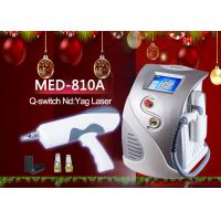 MED-810A ND YAG Q Switch Laser Tattoo Removal Machine 8.4 TFT color LCD display