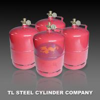 3KG 7.2L Hydraulic LPG Cooking Gas Cylinder with low pressure