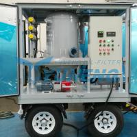 CE Certified Vacuum Transformer Oil Filtration Machine with Pheumatic Tyres