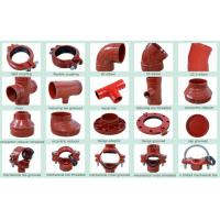 Ductile Iron Groove Pipe Fitting & joint coupling fittings