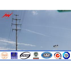 China National Power Corporation Electrical Power Transmission Pole 53.3m Earthquake Proof on sale