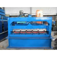 Building Material Metal Roof Roll Forming Machine 380V 50Hz 3 Phase Voltage