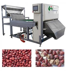 Precision CCD Color Sorter Machine 220V , Bean Color Sorter For Adzuki Bean