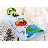 Reusable Baby Food Spout Pouch Bag High Barrier Multi Colors Custom Printing