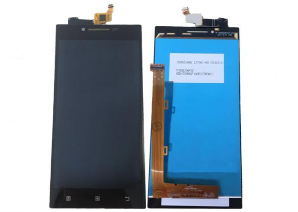 China Lenovo P70 Cell Phone Spare Parts Lcd Replacement Black With Touch Digitizer supplier