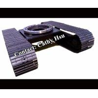 factory directly offered drilling rig steel crawler track undercarriage steel crawler undercarriage