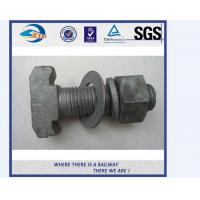 Grade 10.9 Material 40Cr Railway Bolts Track Fish Bolt UIC864-2