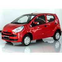 Red White Sedan Electric Car 7.5 KW AC Motor With Lithium Battery 65km/H Max