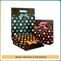 durable colorful paper bag/shoes bag /recycled paper bag