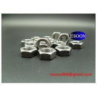 M6-1.0 DIN439 Hex thin nut Plain finished surface,Carbon steel Grade 8,DIN936