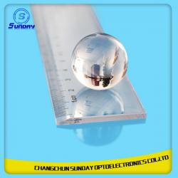 China 0.6mm -200mm Ball Lens Optical Lens BK7k9 Sapphire Fused Silica(JGS1) Caf2 ZnSe Ruby on sale